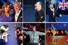 Leanne Micthell, Sir Tom Jones, Thom Yorke from Radiohead, Gary Barlow, Jay-Z and Rihanna, Ian Brown from Stone Roses and Swedish House Mafia