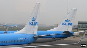 KLM planes