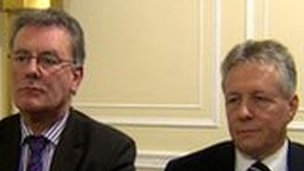 Mike Nesbitt and Peter Robinson are attempting to provide an alternative to street protests