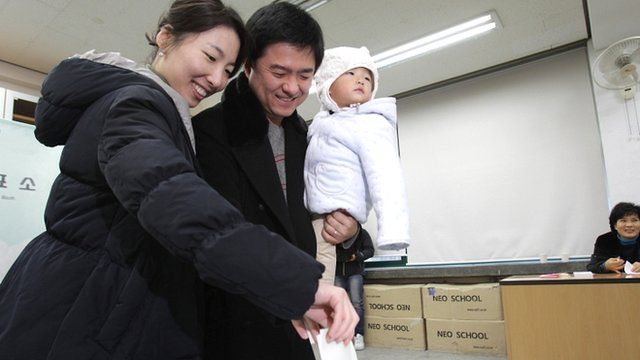 South Koreans cast their votes for a new president