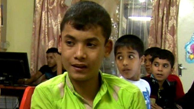 Saif, an orphan