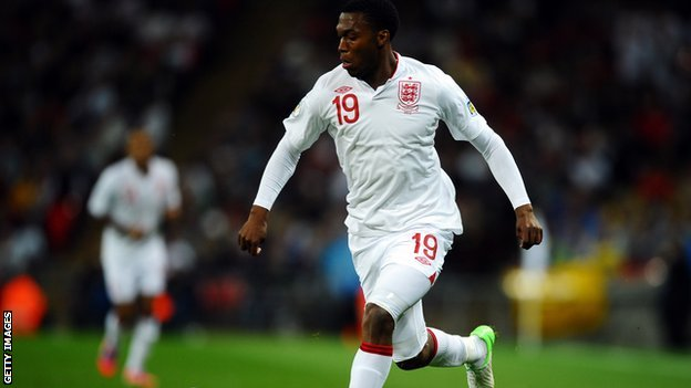 Chelsea and England striker Daniel Sturridge