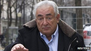 Dominique Strauss-Kahn in Paris. Photo: 10 December 2012