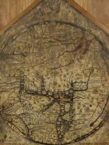 Mappa Mundi in Hereford Cathedral