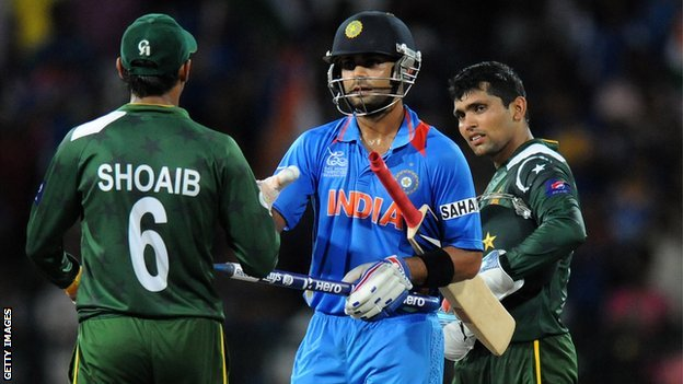 Shoaib Malik, Virat Kohli and Kamran Akmal