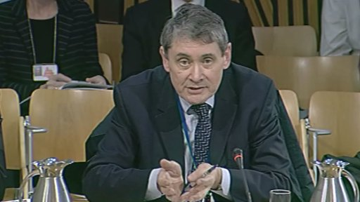 Sir Harry Burns , Chief Medical Officer for Scotland