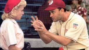 Still from A League of Their Own