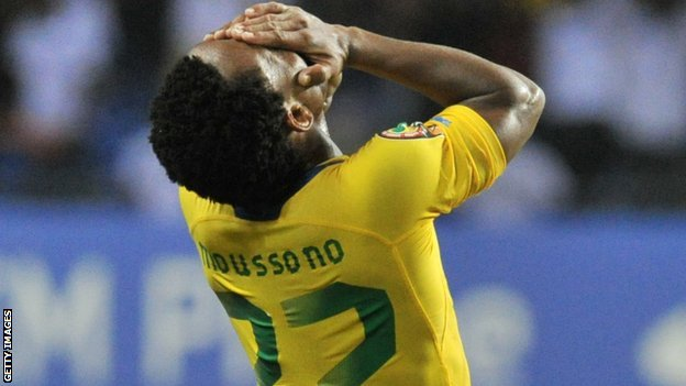 Soccer-Gabon penalised with 3-0 defeat over ineligible player