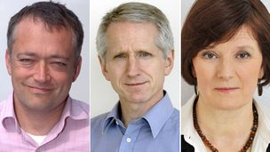 Peter Rippon, Steve Mitchell, Helen Boaden