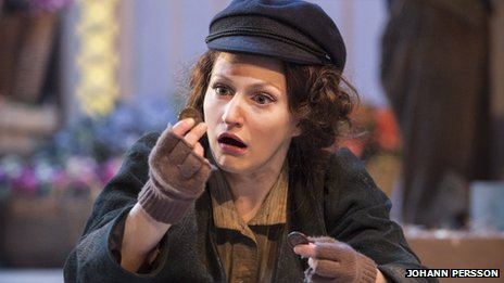 Carly Bawden in My Fair Lady