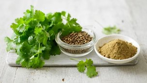 Coriander: BBC Food