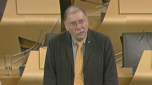 SNP MSP Rob Gibson