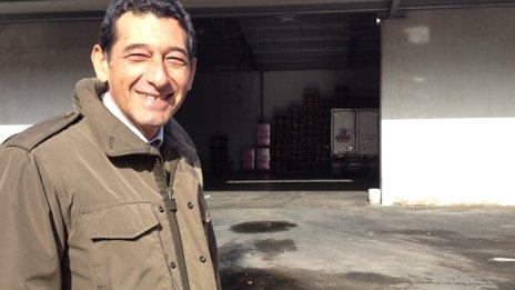 Euromilk's caretaker manager, Giuseppe Castellano,