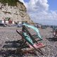 Beer deckchairs