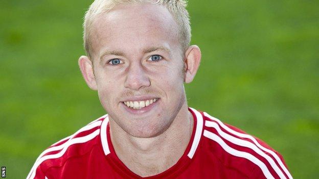 Aberdeen midfielder Nicky Low
