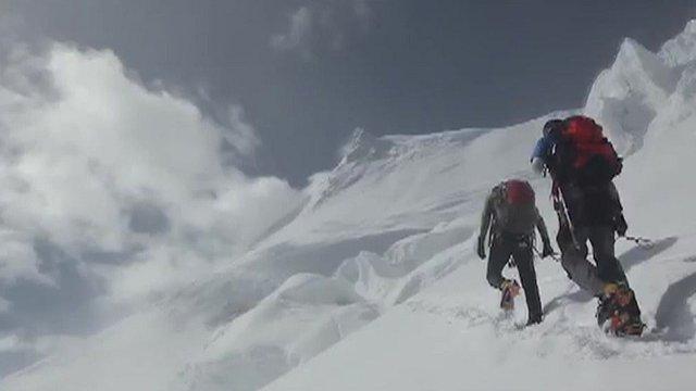 Polar explorer David Hempleman Adams' expedition to the South Pole