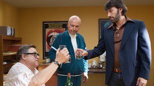 John Goodman, Alan Arkin and Ben Affleck in Argo