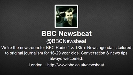 Newsbeat Twitter logo