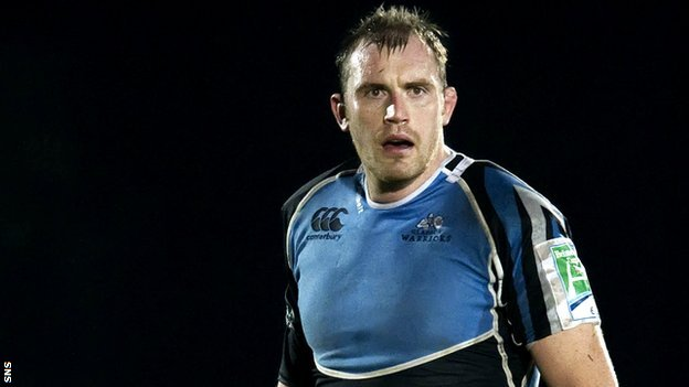 Glasgow warriors lock Al Kellock