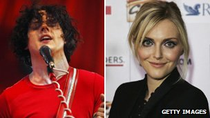 Jack White and Sophie Dahl