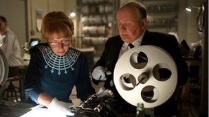Dame Helen Mirren and Sir Anthony Hopkins in Hitchcock