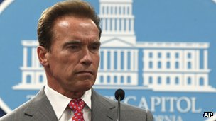 Governor Arnold Schwarzenegger in 2009