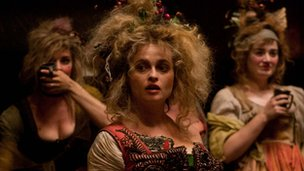 Helena Bonham Carter (centre) in Les Miserables
