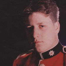 Chris Barrell in his Coldstream Guards uniform
