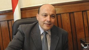Top prosecutor Talaat Ibrahim in a file image from November 2012
