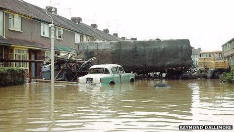 Flooding in Bedminster