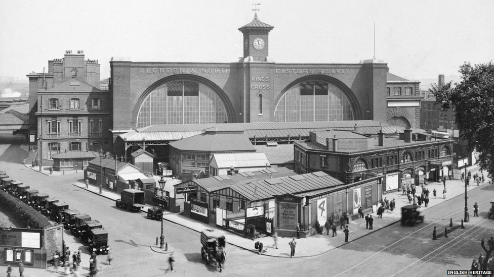 Bbc News London King S Cross Station S Changes Over 160