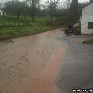 Lea flooding