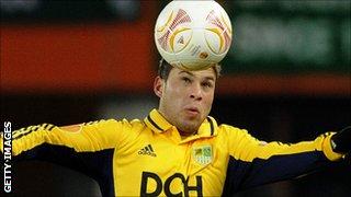 Marlos - one of Kharkiv's Brazilian players