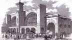 The station in 1852
