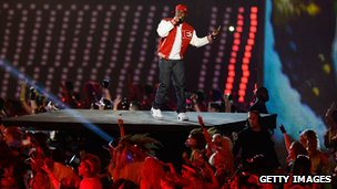 Dizzee Rascal at the Olympic opening ceremony