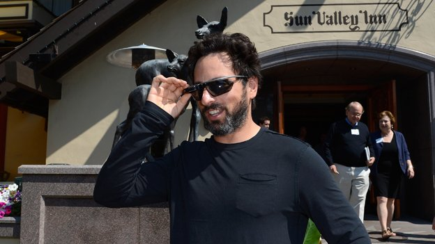 Sergey Brin and Project Glass