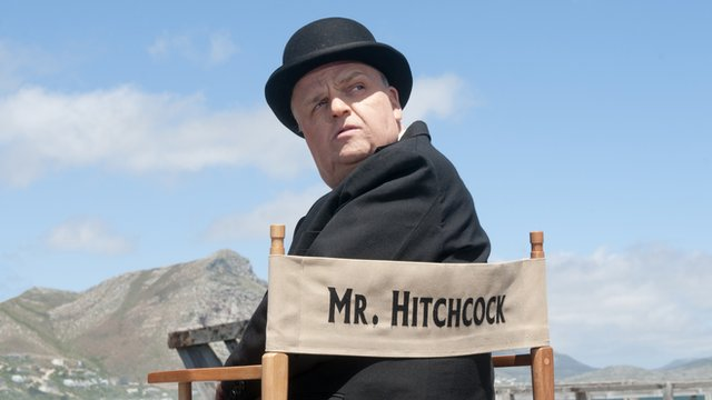 Toby Jones as Alfred Hitchcock