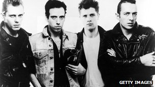 Strummer (r) played with The Clash from 1976 to 1986
