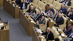 Russian Duma, 14 Sept 2012