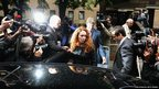 Rebekah Brooks, former Chief Executive of News International, leaves Southwark Crown Court in London where she appeared on charges of conspiring to pervert the course of justice