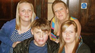 The Rowntrees - Leeanne, Jodie, Connor and Ceri
