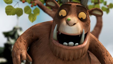 The Gruffalo has featured in two Christmas Day programmes
