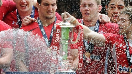 Wales&#039; grand slam win, 2012