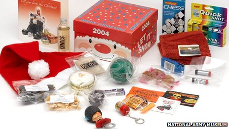 A modern-day Christmas box for British troops