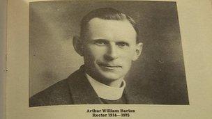 Rev Arthur Barton