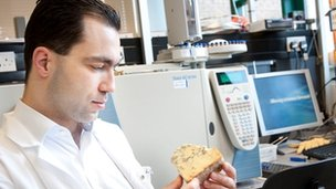 Dr Kostas Gkatzionis examines some cheese