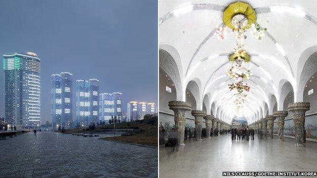 Scenes from Pyongyang