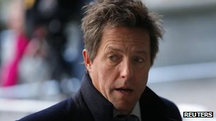 Actor Hugh Grant