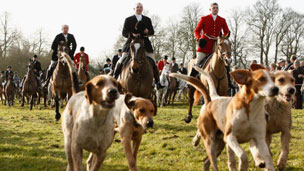 Bicester hunt, Boxing Day 2006