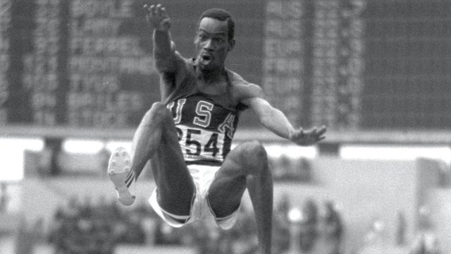 Former long jump world record holder Bob Beamon